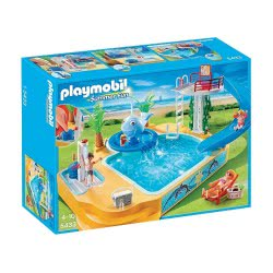 Playmobil Μεγάλη Πισίνα Με Σιντριβάνι-Φάλαινα 5433 4008789054333