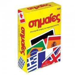 Σβούρα Οι Σημαίες Επιτραπέζιο Με Κάρτες 7032 5020201870320
