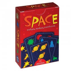 Σβούρα Space Card Board Game 7021 5020201670210