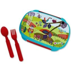 Oops Lunch Box With Split 370Ml Small World X30-40006-30 8033576719870