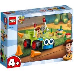 LEGO Juniors Disney Pixar Toy Story 4 Γούντι Και Αγωνιστικό Αυτοκίνητο 10766 5702016367713