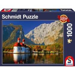 Schmidt Puzzle 1000 St. Bartholomew 58236 4001504582364
