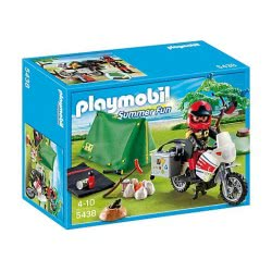 Playmobil Μοτοσικλέτα & Σκηνή Camping 5438 4008789054388