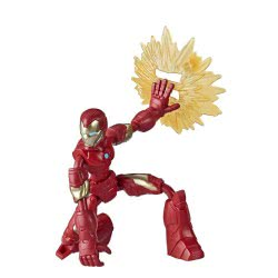 Hasbro Marvel Avengers Bend And Flex Action Figure 15 Cm. - Iron Man E7377 / E7870 5010993641864