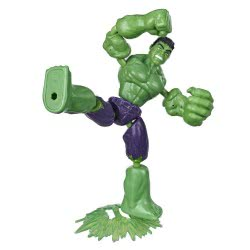 Hasbro Marvel Avengers Bend And Flex Φιγούρα Δράσης 15 Εκ. - Hulk E7377 / E7871 5010993641857