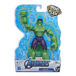 Hasbro Marvel Avengers Bend And Flex Action Figure 15 Cm. - Hulk E7377 / E7871 5010993641857
