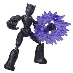 Hasbro Marvel Avengers Bend And Flex Φιγούρα Δράσης 15 Εκ. - Black Panther E7377 / E7868 5010993641871