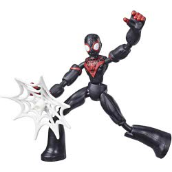 Hasbro Marvel Avengers Bend And Flex Φιγούρα Δράσης 15 Εκ. - Miles Morales E7335 / E7687 5010993638505