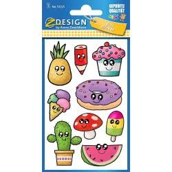 ZDesign Avery Zweckform Stickers 9 Pieces - Kawaii 53225 4004182532256