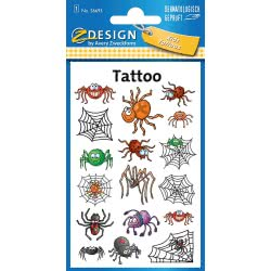 ZDesign Avery Zweckform Spiders Stickers 17 Pieces 56693 4004182566930
