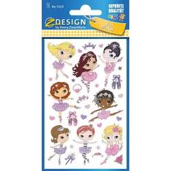 ZDesign Avery Zweckform Ballerina Stickers 53221 4004182532218