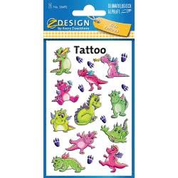 ZDesign Avery Zweckform Dragons Tattoo Αυτοκόλλητα 19 Τεμ. - Δράκοι 56692 4004182566923