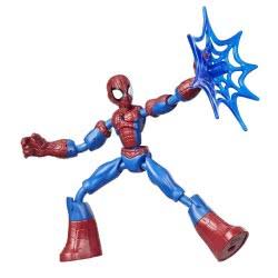 Hasbro Marvel Spiderman Bend And Flex Φιγούρα Δράσης 15 Εκ. - Spider-Man E7335 / E7686 5010993638536