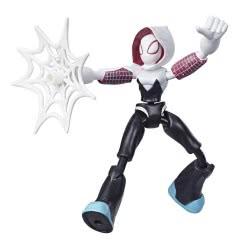 Hasbro Marvel Spiderman Bend And Flex Action Figure 15 Cm. - Spider Gwen E7335 / E7688 5010993638529