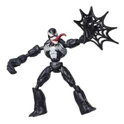 Hasbro Marvel Spiderman Bend And Flex Φιγούρα Δράσης 15 Εκ. - Venom E7335 / E7689 5010993638512