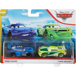 Mattel Disney/Pixar Cars 3 Hit And Run Set Of 2 Spikey Fillups And Chase Racelott DXV99 / GLR95 887961848700