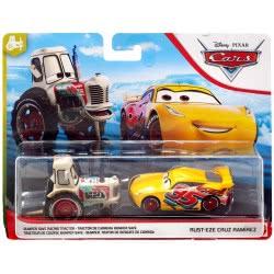 Mattel Disney/Pixar Cars 3 Set Of 2 Bumper Save Racing Tractor And Rust-Eze Ramirez DXV99 / GCK20 887961728842