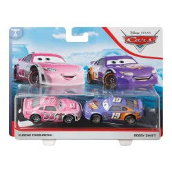 Mattel Disney Pixar Cars Tank Coat And Bobby Swift Character Vehicle 2-Pack DXV99 / GCK21 887961728941