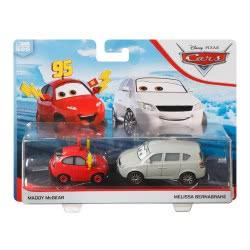 Mattel Disney/Pixar Cars Αυτοκινητάκια Σετ Των 2 Maddy Mcgear And Melissa Bernabrake DXV99 / GCK23 887961728972