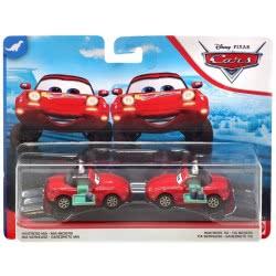 Mattel Disney / Pixar Cars Αυτοκινητάκια Σετ Των 2 Σερβιτόρα Waitress Mia And Tia DXV99 / GCK13 887961728835