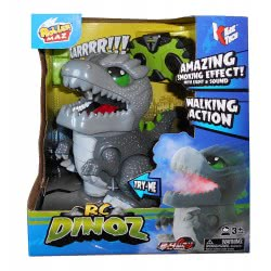 KiDZ TECH Roller Maz R/C Dinoz With Smoke Effect And Movement 87411 4894380874117