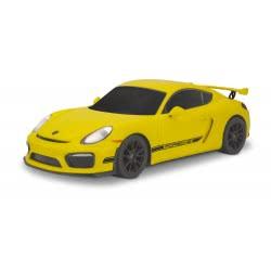 KiDZ TECH Porsche Cayman GT4 RC Yellow 89431 4894380894313