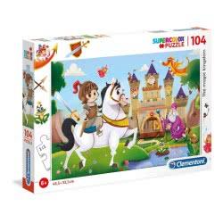 Clementoni Super Color Puzzle Magic Kingdom 104 Pieces 1210-27113 8005125271139