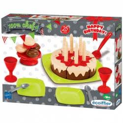ecoiffier Chef Τούρτα Γενεθλίων Happy Birthday 18 Τμχ 2513 3280250025139