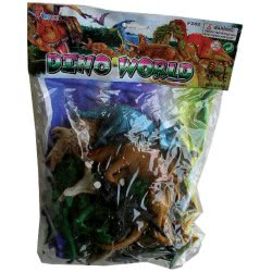 OEM Dino World Σετ Δεινόσαυροι Σακούλα 24X35 Cm F282 5204214011622