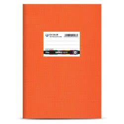 salko paper Ex-Color Τετράδιο Πλαστικό 50 Φύλλων - Πορτοκαλί 2093 5202832020934