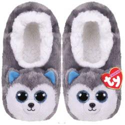 ty Beanie Boos Fashion Slipper Socks Slush Husky - Small 1607-95399 / 3-1 008421953028