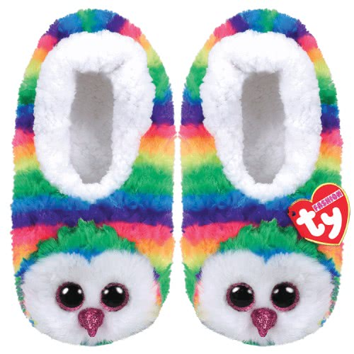 ty Beanie Boos Fashion Παντόφλες Σοσόνια Owen Κουκουβάγια - Small 1607-95399 / 5-1 008421953035