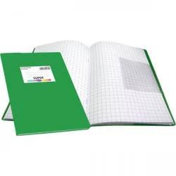 SKAG Τετράδιο Καρφίτσα Μ.Κ. 50Φ 80Γgr (Με Μεγάλα Κουτάκια) - Πράσινο  241700 5201303241700