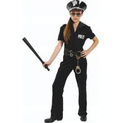 Fun Fashion Costume Police Girl No 8 963-08 5204745963087