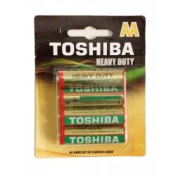 TOSHIBA Μπαταρίες Heavy Duty Aa / Lr6 0249138 4904530587719