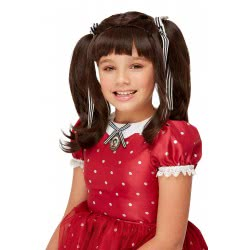 Santoro London Gorjuss Carnaval Wig The Ruby 52370 5020570505274