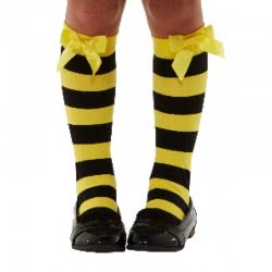 Santoro London Gorjuss Carnaval Accessory Bee Loved Socks 52373 5020570505373
