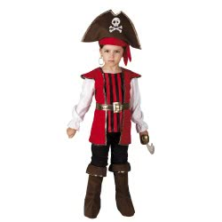 CLOWN Carnaval Costume Little Pirate Size 04 101904 5203359000669