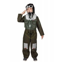 CLOWN Carnaval Costume Airforce Pilot Size 08 77608 5203359776083