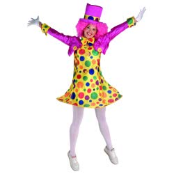 Carnaval Costume Clown Girl Size M 70189 5203359701894