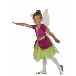 CLOWN Carnaval Costume Little Bell Fairy Size 06 100506 5203359000157