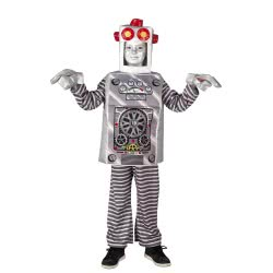CLOWN Carnaval Costume Robot Size 04 77504 5203359775048