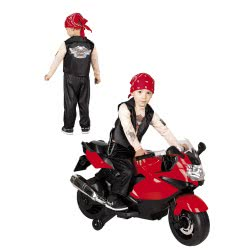 CLOWN Carnaval Costume Easy Rider Size 06 77106 5203359771064