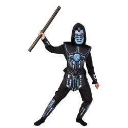 CLOWN Carnaval Costume Cyber Ninja Size 12 84312 5203359843129