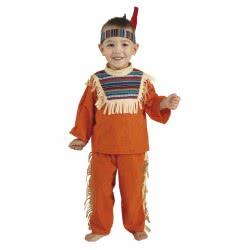 CLOWN Στολή Baby Indian Boy Μικρός Ινδιάνος (Bebe) Νο. 24 04024 5203359040245
