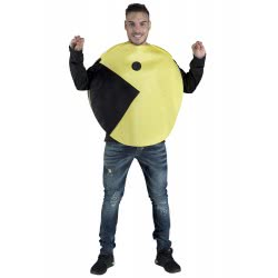 CLOWN Carnaval Costume Pac Man Size Os 99905 5203359999055