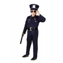 CLOWN Carnaval Costume Policeman Muscle Size 04 34704 5203359347047