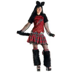 CLOWN Carnaval Costume Cat Size Os                                71465 5203359714658