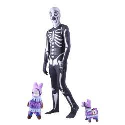 CLOWN Carnaval Costume Skeletor Fortnite Size 08 33308 5203359333088