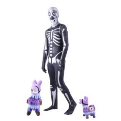 CLOWN Carnaval Costume Skeletor Fortnite Size 10 33310 5203359333101